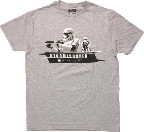 Star Wars First Order Stormtrooper T-Shirt Sheer