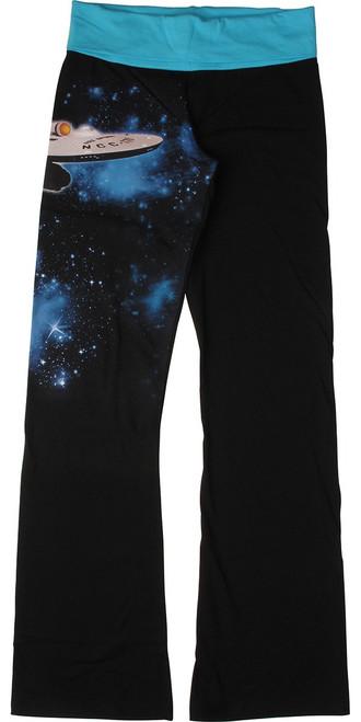 Star Trek Boldly Enterprise Go Yoga Pants