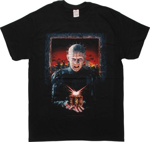 Hellraiser 3 Hell on Earth Poster T-Shirt
