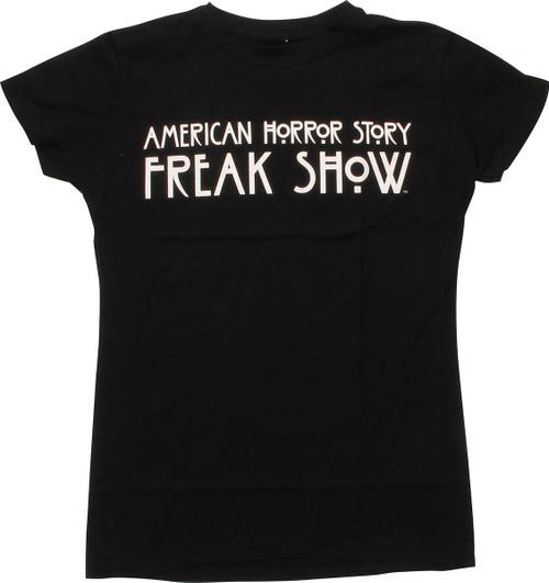 c8e76ed2621e American Horror Story Freak Show Juniors T-Shirt baby-tee-american-horror- story-freak-show
