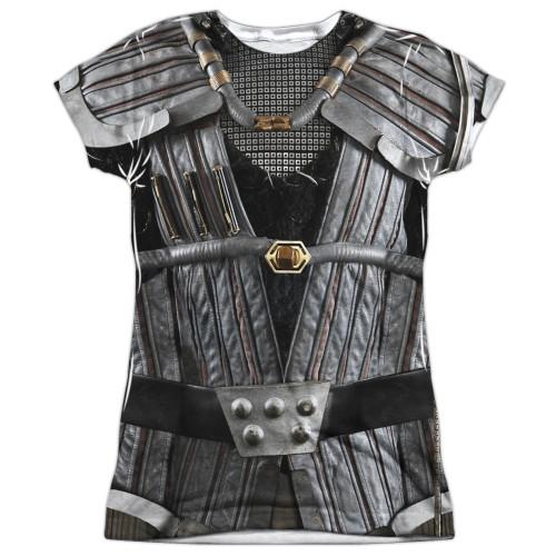 Star Trek Klingon Uniform Sub Juniors T Shirt