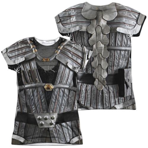 Star Trek Klingon Uniform FB Sub Juniors T Shirt