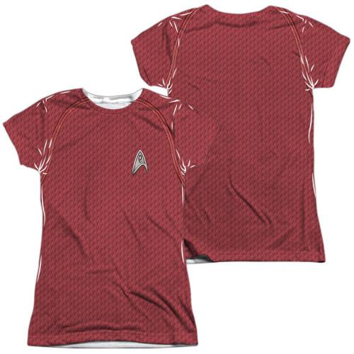 Star Trek Movie Engineer FB Sub Juniors T Shirt