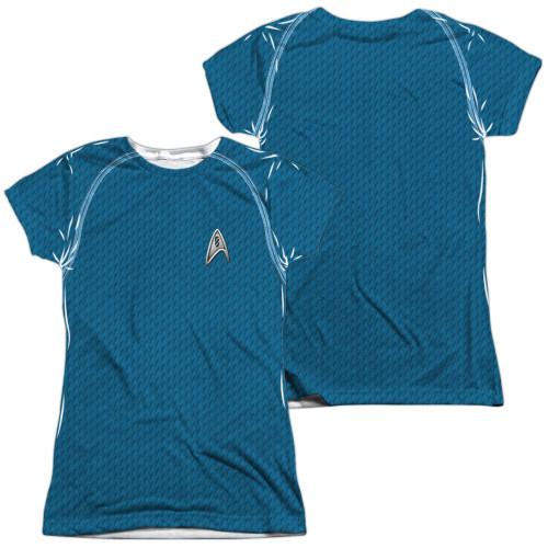 Star Trek Movie Science FB Sub Juniors T Shirt
