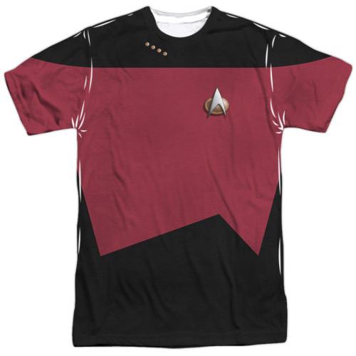 Star Trek TNG Command Sublimated T Shirt
