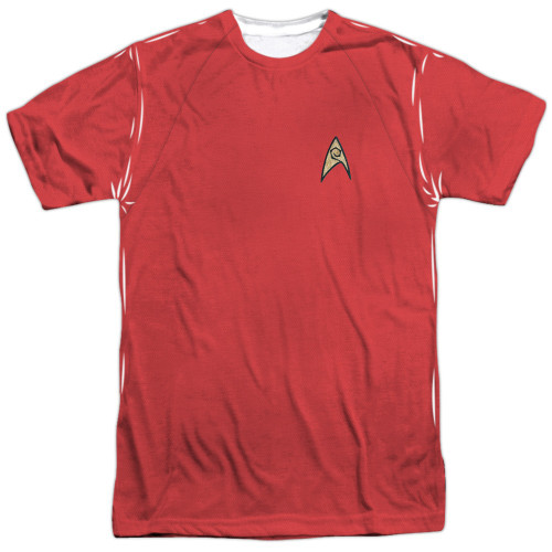 Star Trek TOS Engineer Sublimated T Shirt