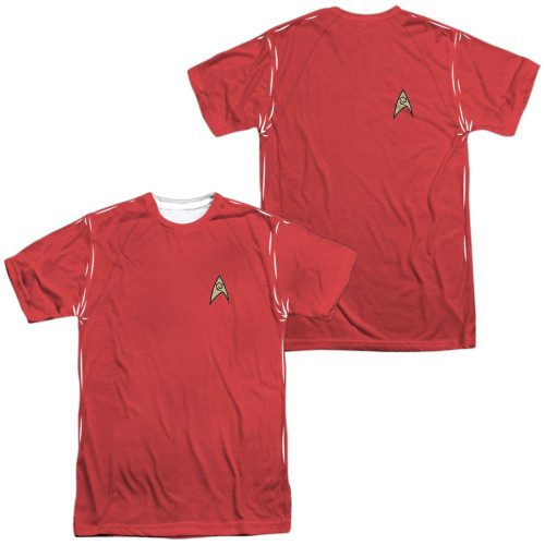 Star Trek TOS Engineer FB Sublimated T Shirt