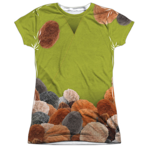 Star Trek Tribble Trek Sub Juniors T Shirt