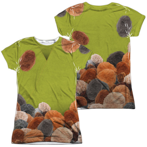 Star Trek Tribble Trek FB Sub Juniors T Shirt