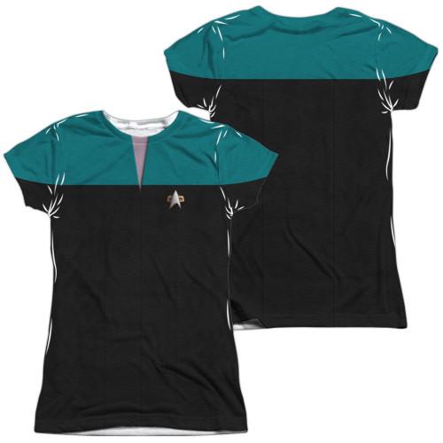 Star Trek Voyager Science FB Sub Juniors T Shirt