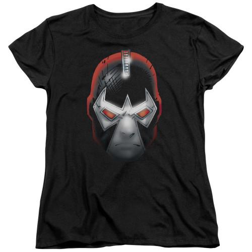 Bane Comic Head Ladies T Shirt