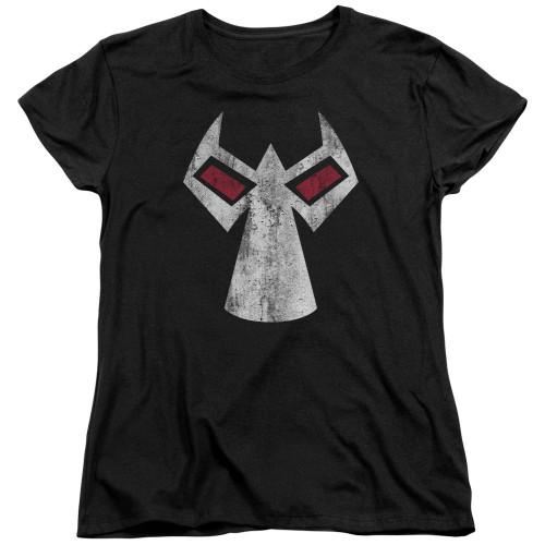 Bane Comic Face Ladies T Shirt