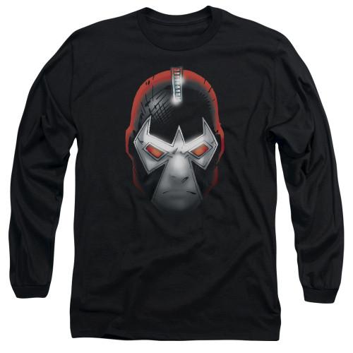 Bane Comic Head Long Sleeve T Shirt
