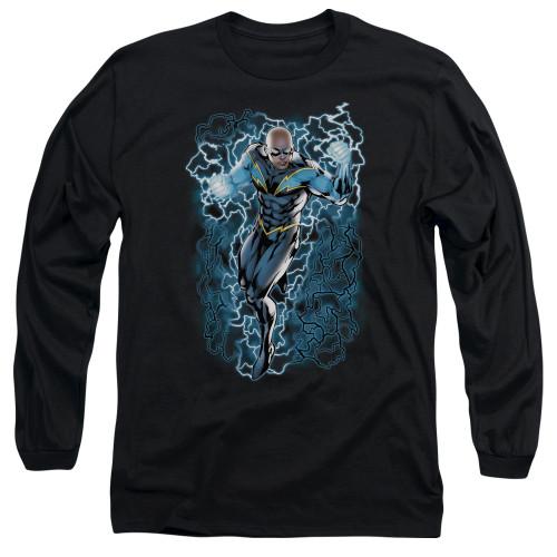 Black Lightning Long Sleeve T Shirt