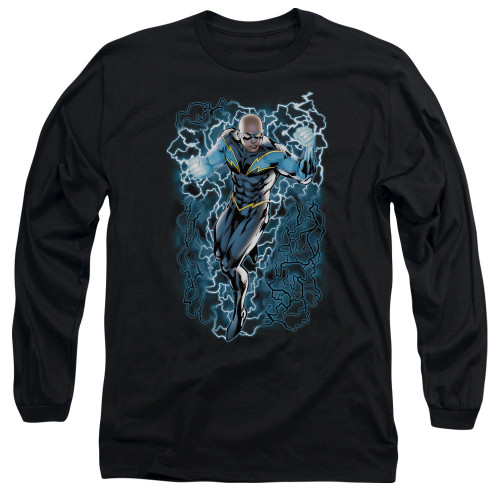 Black Lightning Long Sleeve T Shirt