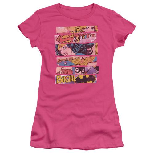 DC Comics Banners Juniors T Shirt