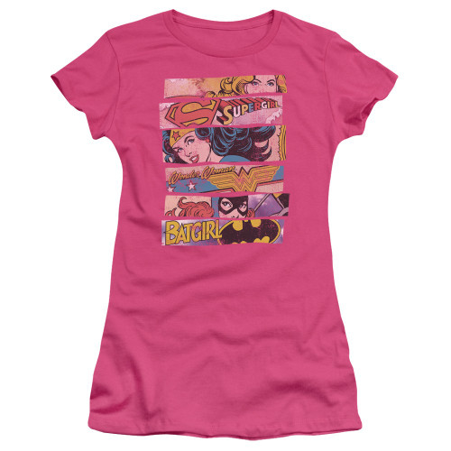 DC Comics Banners Juniors T Shirt