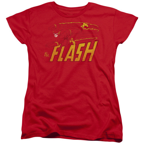 Flash Dive Left Ladies T Shirt