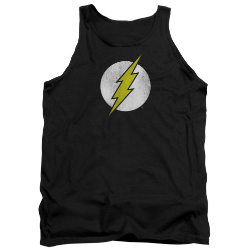 Flash Logo Distressed Tank Top