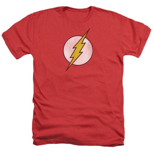 Flash Symbol Distressed Heather T Shirt