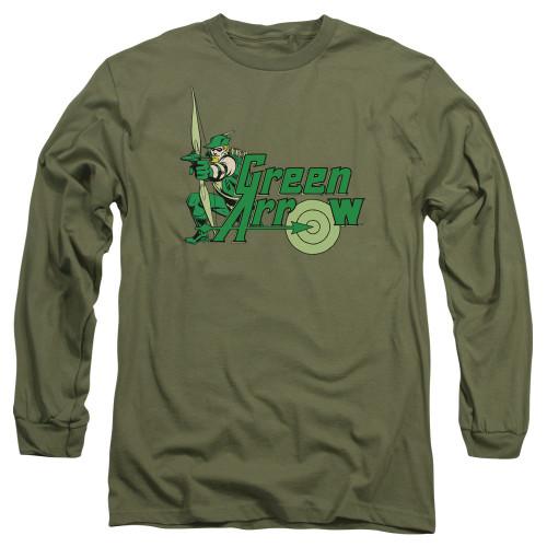 Green Arrow Target Long Sleeve T Shirt