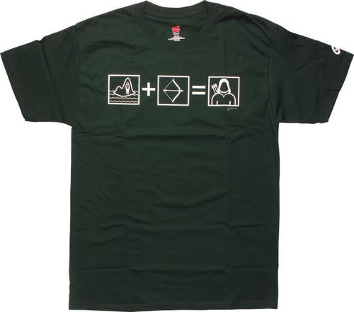 Green Arrow Equation T-Shirt