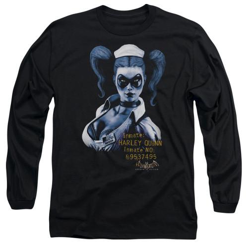 Harley Quinn Inmate Long Sleeve T Shirt