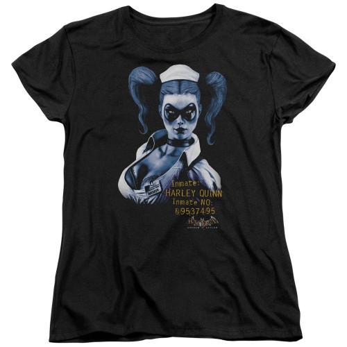 Harley Quinn Inmate Ladies T Shirt