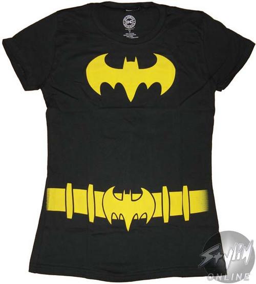 Batgirl Costume Symbol Baby Tee