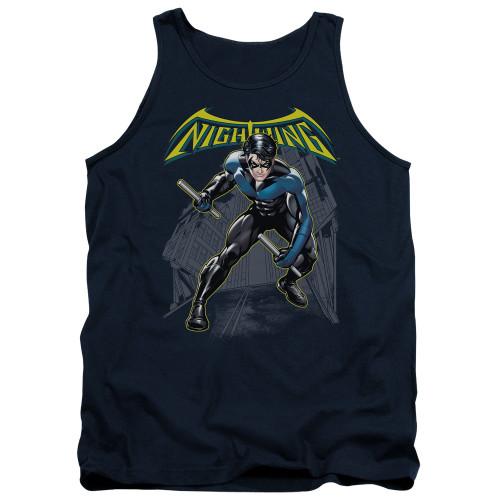 Nightwing Under Logo Tank Top