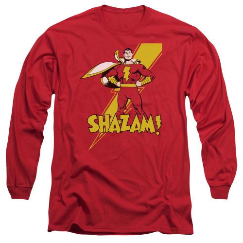 Shazam Tall Long Sleeve T Shirt