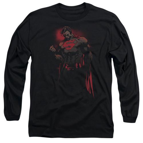 Superman Fists Long Sleeve T Shirt