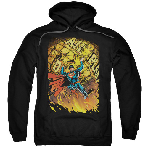 Superman New 52 #1 Pullover Hoodie