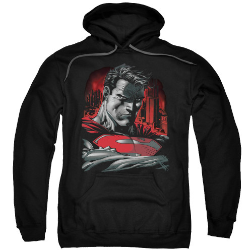 Superman Stare Pullover Hoodie