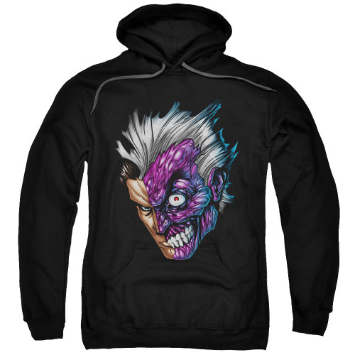 Two Face Head Pullover Hoodie