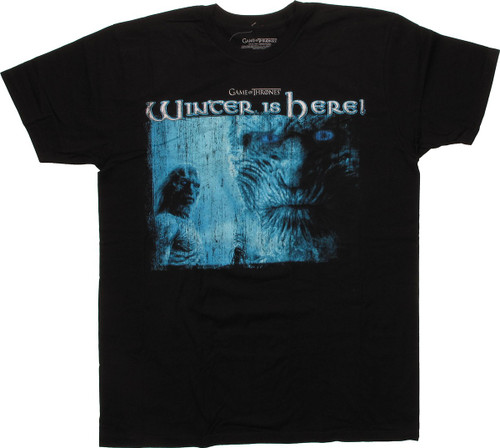 Game of Thrones Winter Here Walker T-Shirt