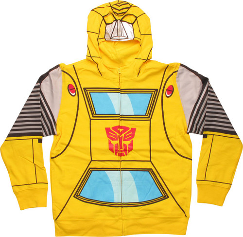 Transformers Bumblebee Foil Face Youth Hoodie