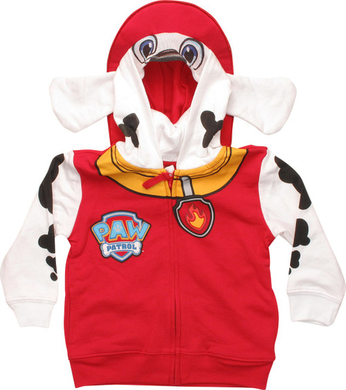 Paw Patrol Marshall Suit Hat Toddler Hoodie