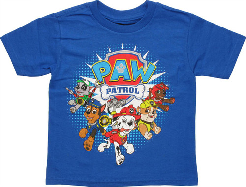 Paw Patrol Group Logo Toddler T-Shirt
