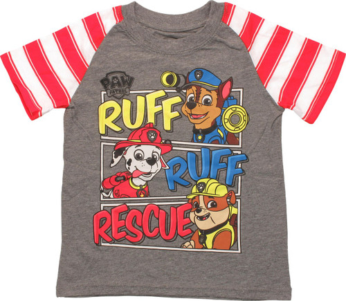 Paw Patrol Ruff Rescue Stripes Toddler T-Shirt