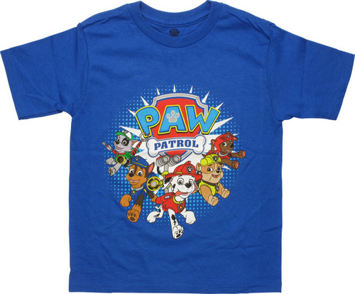 Paw Patrol Group Logo Juvenile T-Shirt