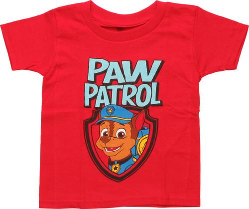 Paw Patrol Chase Crest Toddler T-Shirt