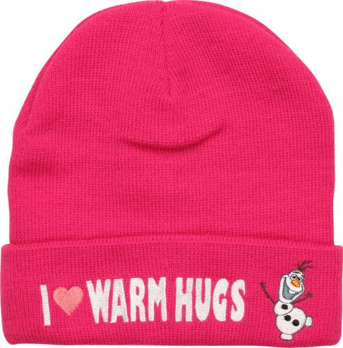 Frozen Olaf Warm Hugs Cuff Beanie