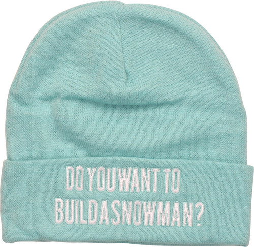 Frozen Build a Snowman Cuff Beanie