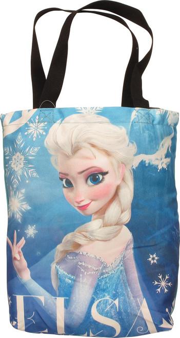 Frozen Elsa Look Back Name Tote Bag