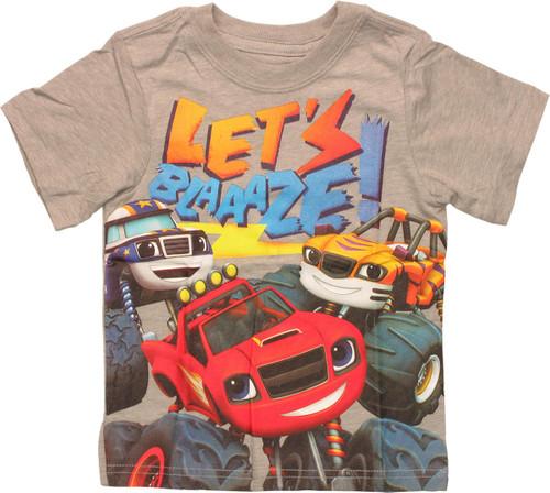 Blaze Monster Machines Lets Blaze Infant T-Shirt