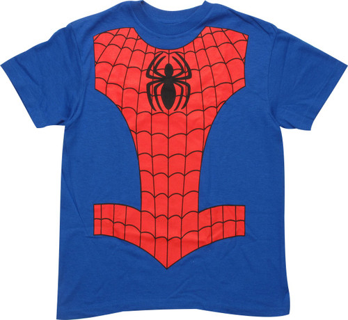 Spiderman Costume Youth T-Shirt