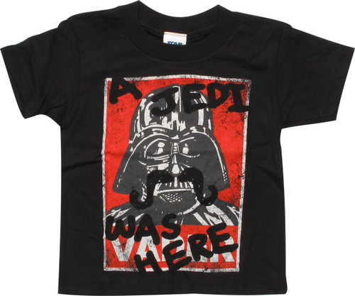Star Wars A Jedi Was Here Toddler T-Shirt
