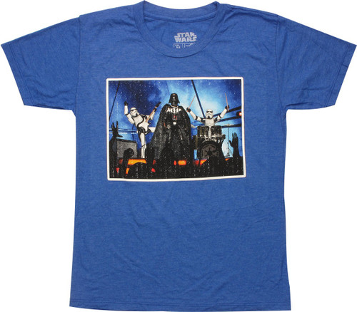 Star Wars Vader Band Youth T-Shirt