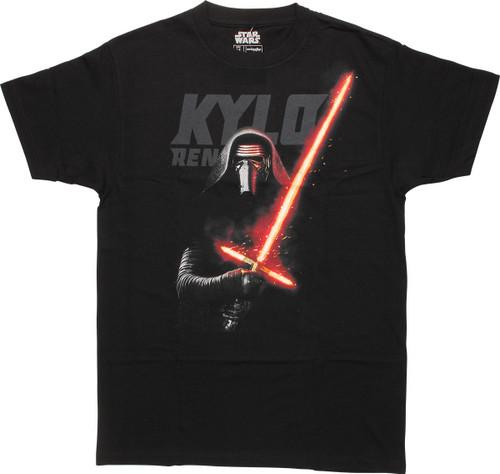 Star Wars Episode 7 Kylo Ren Mighty Fine T-Shirt